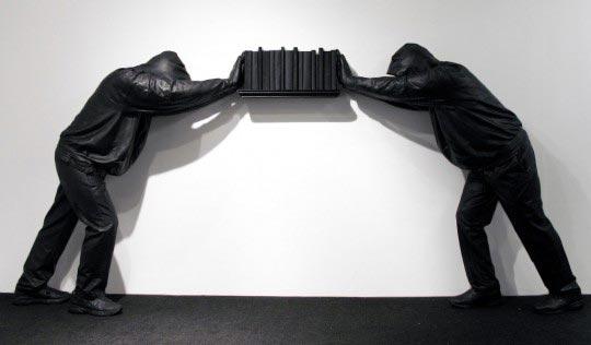 Mark Jenkins, Bookends (Resin Series) 2011, Car Michael Gallery